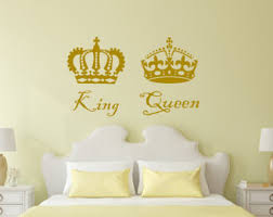 king and queen wall decor etsy