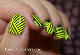 neon geometric nails the polish squirrel