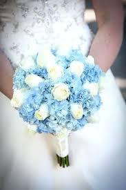Blue Wedding Bouquets Baby Blue Wedding Bouquets Blue Hydrangea Wedding Light Blue