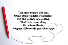 25th Wedding Anniversary Wishes Messages 122 25th Anniversary Wishes Quotes Messages Hd Images