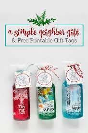 the best neighbor gift u0026 free printable one lovely life