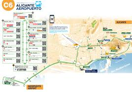 Bus Route Map Airport Transfer Service