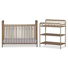 Metal Changing Table Seeds Monarch Hill Metal Crib And Changing Table In