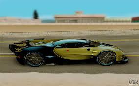 limousine bugatti bugatti vision g for gta san andreas
