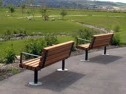 Simple Park Bench Plans Free by Furniture Park Bench With Two Seats Wood Bench Designs Plans Park