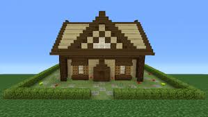 How To Build A Cottage House Minecraft Tutorial How To Make A Small Wooden Cabin 2 Youtube
