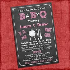 coed baby shower printable baby girl q baby shower invitation barbecue baby shower