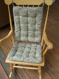 Wooden Rocking Chairs by Surprising Wooden Rocking Chair Cushions For Your Furniture Chairs