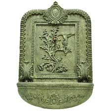 stone fountains outdoor decor the home depot