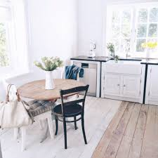 Beachy Kitchen Table by Beach Cottage Kitchen White Floor Progress Life By The Sea Life