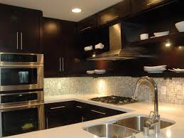dark cabinet kitchens simple tips for painting kitchen cabinets black my kitchen