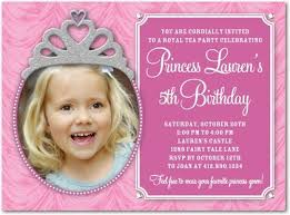 cool free template 5th birthday party invitation wording baby