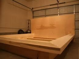 Make Your Own Platform Bed Frame Woodworking Simple Platform Bed Plans Pdf Regarding Basic