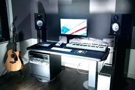 home studio bureau home studio desk excel keyboard studio desk home studio desk setup