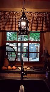 Primitive Kitchen Lighting Primitive Lighting Faucet Curtains Kitchen Ideas Pinterest