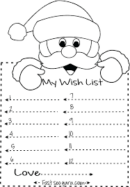 letter to santa template printable black and white printable coloring printable santa letter template