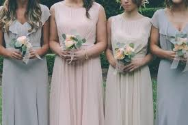 Light Gray Bridesmaid Dress Mix U0026 Match Your Bridesmaid Dresses Mywedding