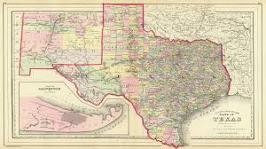 State Of Texas Map Map Of Texas Counties 1890 Youtube