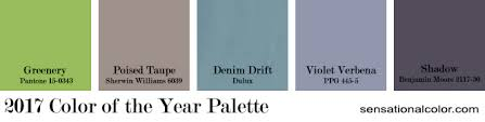 2017 Color Of The Year Pantone 2017 Color Of The Year Sensational Color