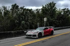 lexus lfa 2019 2019 chevrolet corvette zr1 convertible spotted in florida traffic