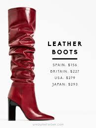 zara canada s boots where you should never buy zara whowhatwear