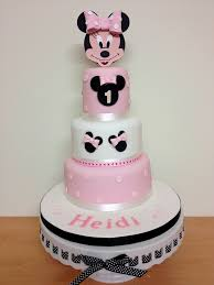 minnie mouse 1st birthday cake minnie mouse 1st birthday cake a special 3 tier for a flickr