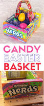 how to make a candy easter basket the crafty blog stalker