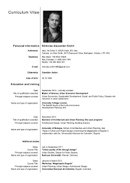 Resume Dates by Nicholas Smith Resume