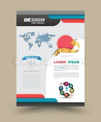 flyer graphic design layout brochure flyer graphic design layout vector template in a4 size