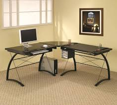 Small White Corner Computer Desk Uk Desk Modern Small Corner Computer Desk Long Narrow Office Layout