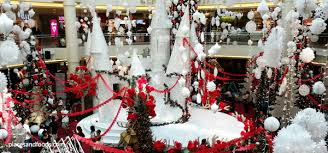 shopping mall christmas decorations christmas lights card and decore