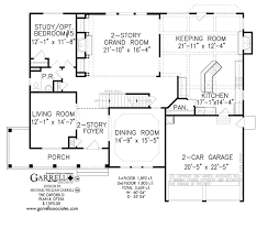 colonial style floor plans oxford d house plan house plans by garrell associates inc