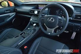 lexus lx interior 2015 2015 lexus rc 350 f sport review video performancedrive
