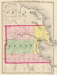 Maps Of Michigan Old Michigan County Map Prints Maps Of The Past