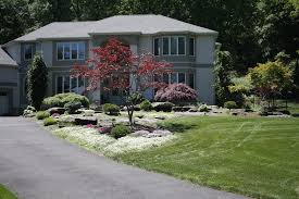 Formal Front Yard Landscaping Ideas - westchester ny front yard landscape this front yard landscape in