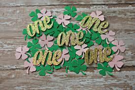 Birthday Decorations In Ireland Irish First Birthday Decorations St Patrick U0027s Day 1st