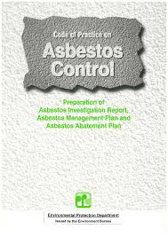 asbestos management plan template contegri com
