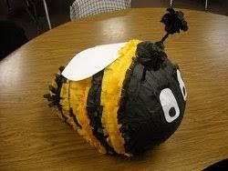 bumble bee pinata bumblebee pinata allfreeholidaycrafts