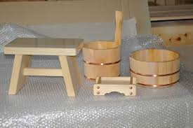 Bathroom Stool Wood Onsen Style Japanese Tubs 7 Custom Ofuro