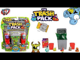 trash pack series 4 single trash cans toy review moose