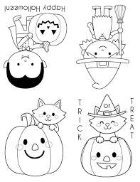 printable halloween coloring books happiness homemade