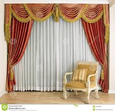 beautiful curtain in living room stock images u2013 image 25286494