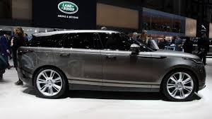 range rover land rover 2018 2018 range rover velar interior and exterior review youtube