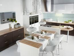 ilot de cuisine avec table ilot de cuisine avec table amovible table de cuisine escamotable