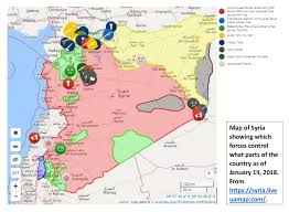 Map Of Syria And Russia The Armenian Weekly