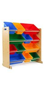 Shop Bookshelves by Amazon Com Tot Tutors Kids Book Rack Storage Bookshelf Natural
