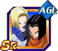 android 17 and 18 unbridled horror androids 17 18 z dokkan battle