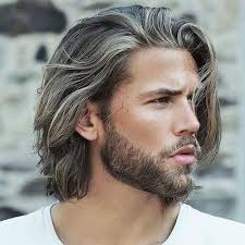 types of ponytails for men how to grow your hair out long hair for men