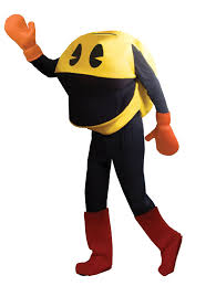 halloween costumes at amazon amazon com toynk toys costumes pacman deluxe costume one size 1