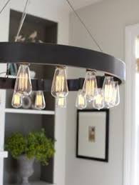 Light Fixture Dining Room Round 12 Light Edison Bulb Chandelier Lounge Areas Bulbs And